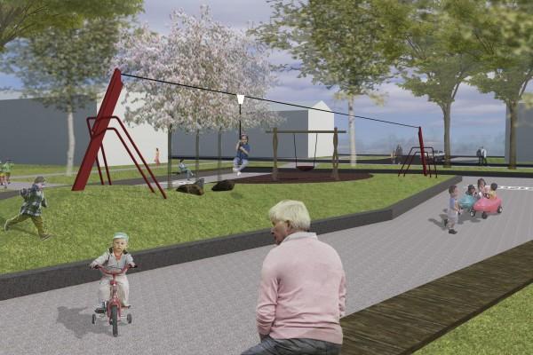 Engineering en uitvoeringsbegeleiding speelplaats IJsvogelplein te Zwijndrecht